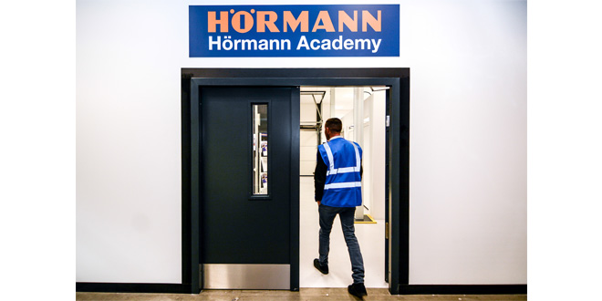 Hörmann UK's Training Academy proves popular with customers