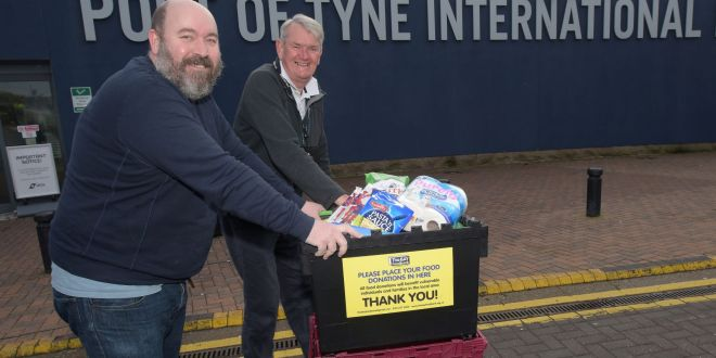 LOCAL FOOD BANKS RECEIVE BOOST FROM THE PORT OF TYNE