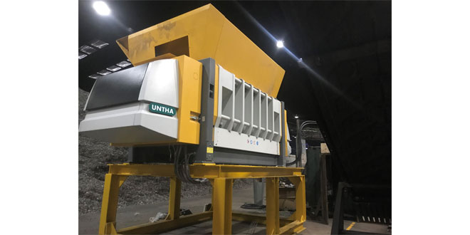 Lancashire Waste boosts SRF production capacity with new UNTHA shredders