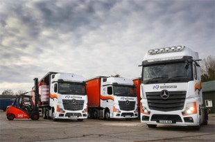 Mercedes-Benz trucks are peak performers for K2 Transport
