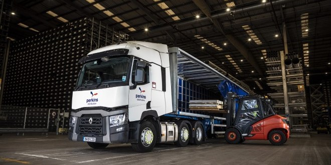 RENAULT TRUCKS PERKS UP PERKINS DISTRIBUTION