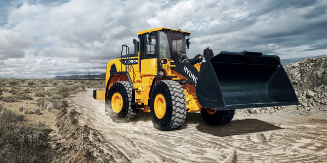 Hyundai Construction Equipment Europe wins Samoter Technical Innovation Award in the 'Medium Wheel Loaders' category