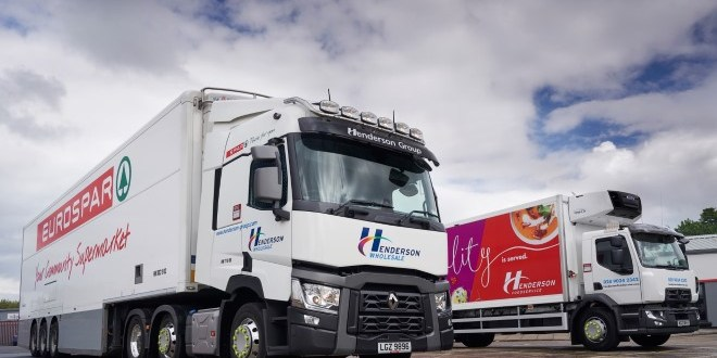 Renault Trucks number one in Henderson Group following latest additions