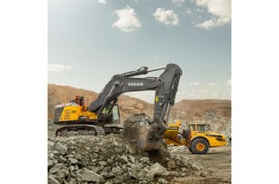 Volvo 90 tonne excavator now available worldwide