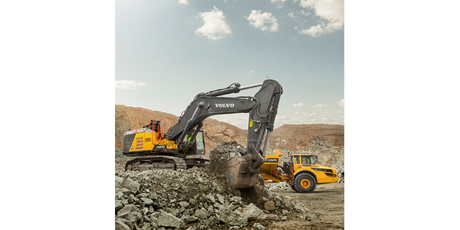 Volvo 90-tonne excavator now available worldwide