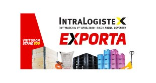 Exporta will be at IntraLogisteX 2020