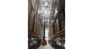 Flexi technology supplied by Narrow Aisle delivers optimum storage capacity for Rico