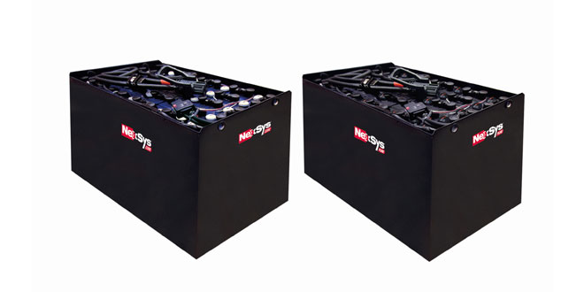 NexSys battery range now covers all materials handling vehicle applications