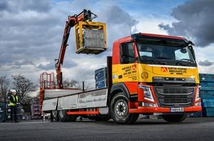 BURTON ROOFING ORDERS FOUR NEW FM RIGIDS AFTER FIRST VOLVO TRUCK TAKES ITS FLEET TO NEW HEIGHTS