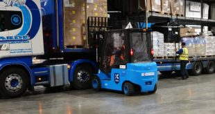 EP are leading the way with li-ion technology for PalletXpress Dublin