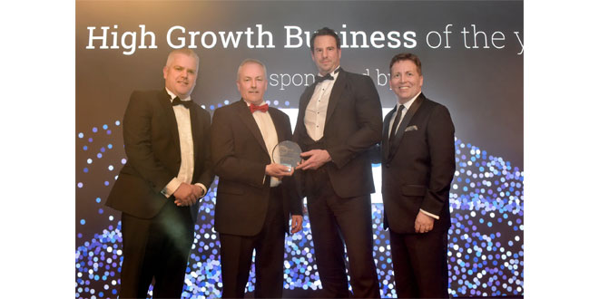FORTH PORTS SCOOPS TRIO OF BUSINESS AWARDS FROM EDINBURGH CHAMBER