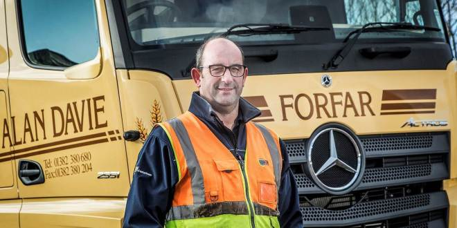 Safety-focused Alan Davie doubles up with first new-generation Mercedes-Benz Actros