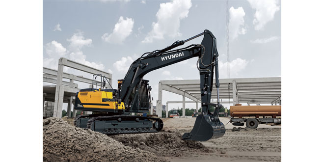 Hyundai launch the new A-series HX220AL excavator