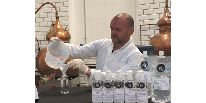 LEYBURN DISTILLERY RAMPS UP ALCOHOL HAND RUB PRODUCTION