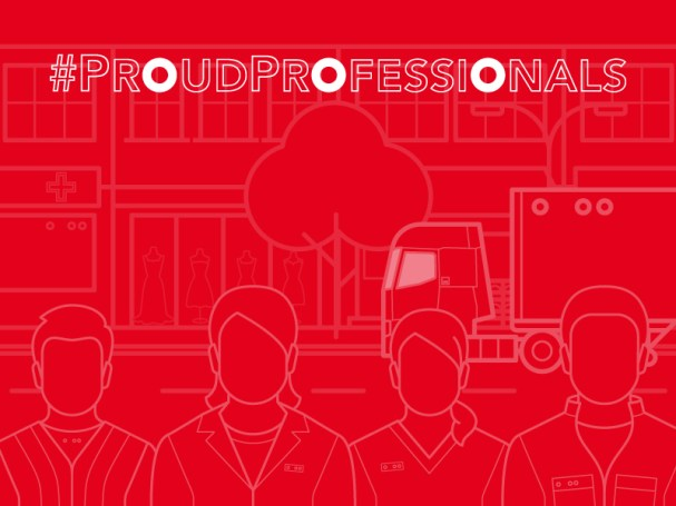 PROUDPROFESSIONALS RELAUNCH POWERS UP INDUSTRY PRIDE LOGO