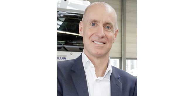 Wolfgang Theissen prepares to take the helm at Mercedes-Benz Trucks UK