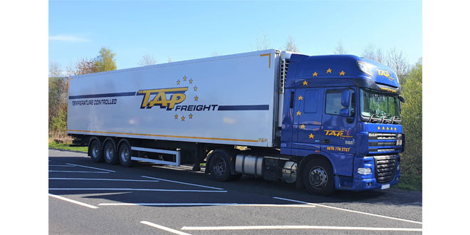 Tapfreight innovate to keep drivers safe while avoiding customers' own paperwork – with Mandata ePOD solution
