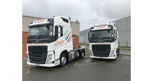 New Volvos offer premier fuel savings to Bardon-based haulier