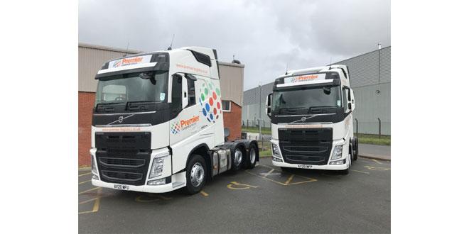 New Volvos offer premier fuel savings to Bardon-based haulier