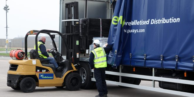 PALLETWAYS LONDON DRINKS IN SUCCESS WITH NEW CONTRACT WIN