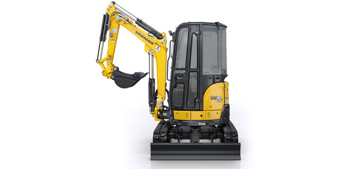 The Yanmar ViO23-6 compact performance for urban worksites