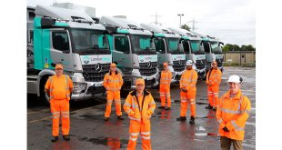Five new generation Mercedes-Benz Arocs with MirrorCam sharpen LondonEnergy safety focus