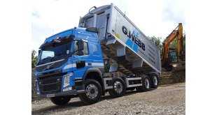 Cambridgeshirebased G Webb Haulage has purchased its first Volvo truck since 2011 a Volvo FM 8x4 rigid with lifting rear axle