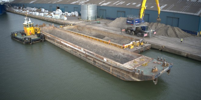 Innovative Habitat 'translocation' underway by new London port Tilbury2