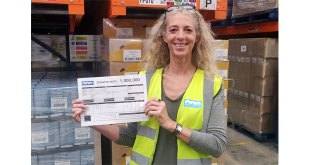Johnston Logistics UK Reaches 1 Million Orders