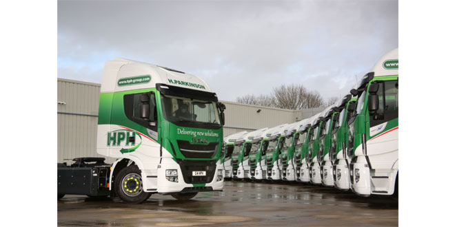 Preston haulier H Parkinson Haulage takes delivery of seven new Stralis NP 460s
