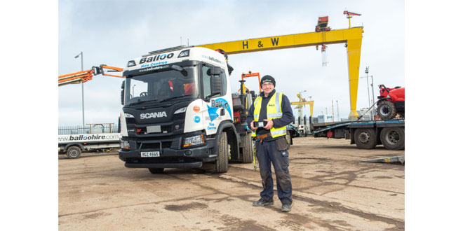 BigChange Mobile Technology Boosts Transport & Service Productivity for Balloo Hire