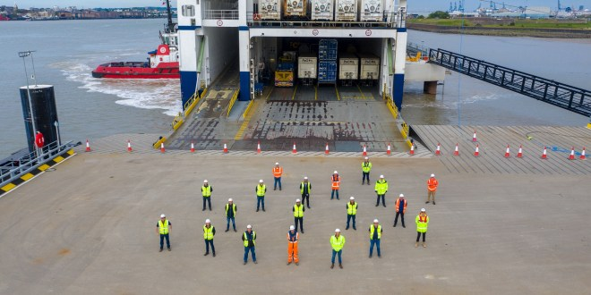 Forth Ports - 2020 closes with a shift to unaccompanied freight