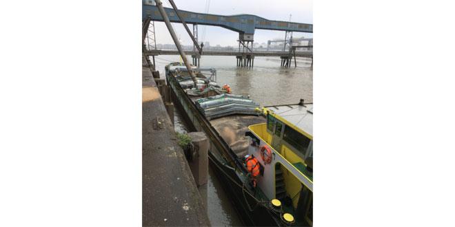 Port of Tilbury begins water-borne coastal deliveries