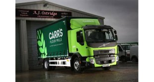 PROVEN RELIABILITY SECURES REPEAT ORDER FOR AJ OSTRIDGE TRANSPORT