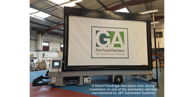 GA PET FOOD PARTNERS RELIES ON SPECIALIST TRIO