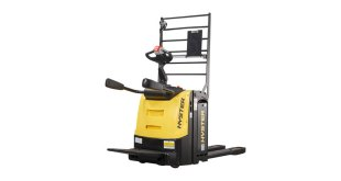 NEW HYSTER® PLATFORM PALLET TRUCKS LITHIUM-ION READY