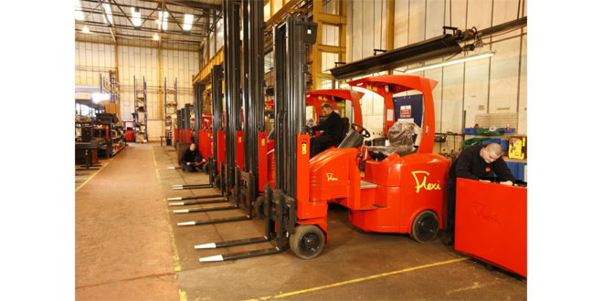 Narrow Aisle leads the green revolution by ending production of LP Gas-powered lift trucks