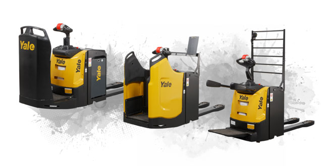 Ergonomics and manoeuvrability at the heart of new Yale platform pallet truck