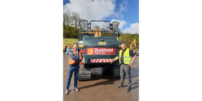 Buckhurst Plant Hire invests £2.5 million into new Hyundai Fleet with Taylor & Braithwaite