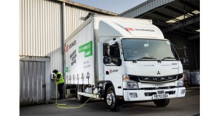 DB Schenker charges ahead with zero-emission FUSO eCanter light truck