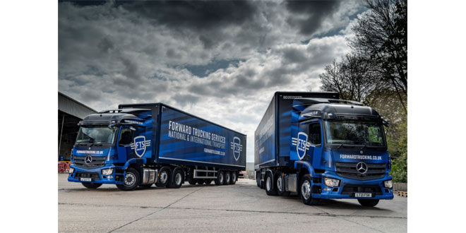 FTS Group capitalises on Mercedes-Benz Trucks safety leadership