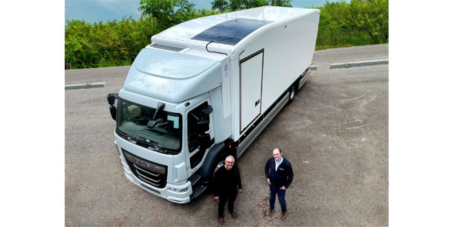 Hultsteins connect to solar power for diesel-free cooling