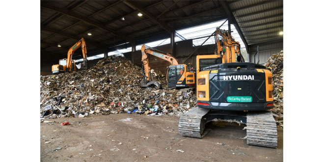 Waste Recycling firm, McCarthy Marland invest in new Hyundai fleet