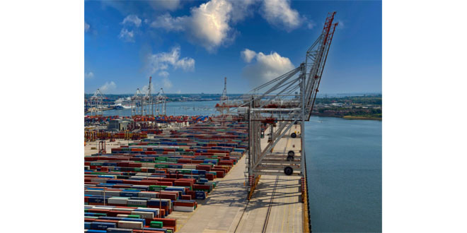 DP World announces completion of major capability improvement at Southampton as world's largest cranes to service all berths
