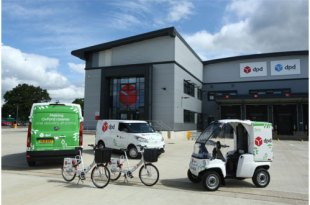 DPD has confirmed that all future parcel deliveries in Oxford will now be made with only electric vehicles