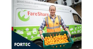Fortec is working with FareShare to help fight hunger in the UK