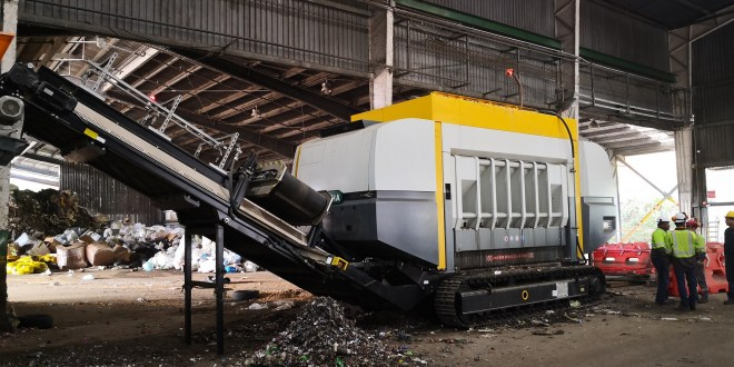 Geocycle doubles co-processing capabilities with UNTHA shredder