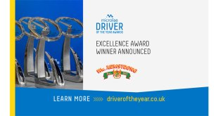 WM Armstrong wins Microlise Driver Excellence Award 2021
