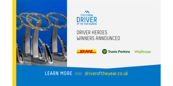 Driver Heroes In The Microlise Driver of The Year Awards 2021 Named