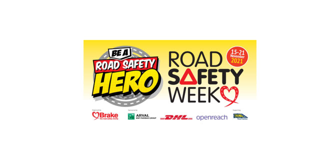 ROAD SAFETY HEROES announced as the theme for Road Safety Week 2021 – registrations are now open